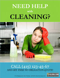 14 free cleaning flyer templates house or business