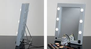 professional makeup lighting portable mw01 tsk portable mirror with bag makeup vanity mirrors cantoni
