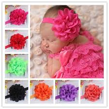 hair bands for baby girl set of 12 pieces flower hair bands for baby hair bands