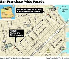 San Francisco Ferry Map by Your 2016 Pride Guide How To Get There And What To Know Sfgate