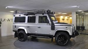 land rover silver land rover defender 110 urban silver u0026 black lawton brook youtube