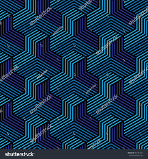 Blue Pattern Background Blue Black Patternbackground Line Geometricmodern Stylish Stock