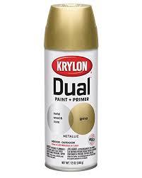 Metallic Gold Fabric Spray Paint - amazon com krylon k08845001 dual superbond paint primer