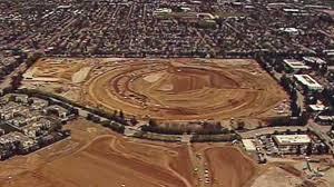 aerial photos show new apple