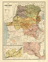 The Ghost Map Map Of The Belgian Congo World Digital Library