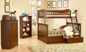 Columbia Bunk Bed Columbia Antique Walnut Bunk Bed By Atlantic Furniture