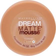 maybelline dream matte mousse classic ivory light 2 maybelline dream matte mousse foundation caramel dark 2 18g r143