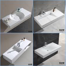 kkr porcelain european bathroom sinks solid surface stone