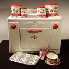 vintage 1950 u0027s little chef toy stove from ruthsredemptions on ruby
