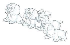 lady tramp puppies philliecheesie deviantart
