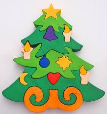 tree puzzle montessori child