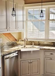 corner kitchen sinks kitchen white corner kitchen sink decor ideas design pinterest