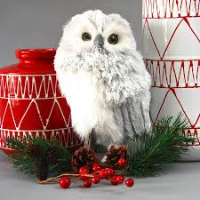 snowy owl decoration hedwig harry potter