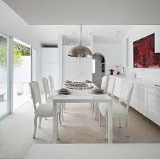 Best Comedor Dining Room Images On Pinterest Dining Room - All white dining room