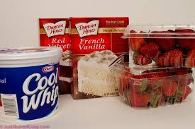 cake directions velvet vanilla strawberry layer cake recipe just