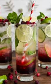 spiced hibiscus cranberry mojitos a tasty cocktail treat for a