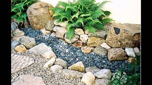 small rock garden ideas youtube