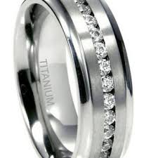 mens eternity rings best men s titanium diamond wedding ring products on wanelo