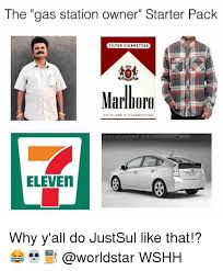 Gas Station Meme - the gas station owner starter pack filter cigarettes pm marlboro