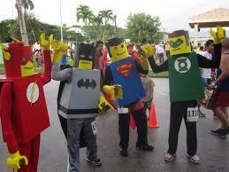 Lego Brick Halloween Costume 11 Creative Group Halloween Costume Ideas