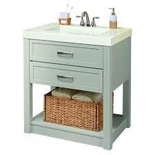 Bathroom Vanities Prices Shop Style Selections Annabeth 30 In Cool Gray Bathroom Vanity