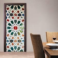 stickers for glass doors aliexpress com buy 2 pcs set kaleidoscope glass door sticker diy