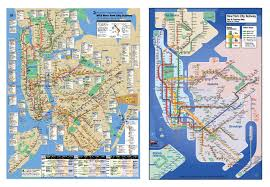 Map Of New York And Manhattan by About The Kick Map