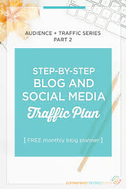 social media planner 7 day social media plan for your blog plus a free planner