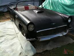 1957 ford thunderbird baby bird convertible d code 312 v8 manual