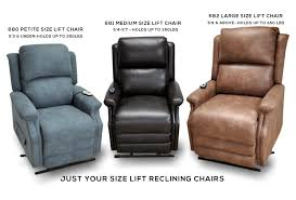 arthur 680 petite size lift reclining chair sofas and sectionals