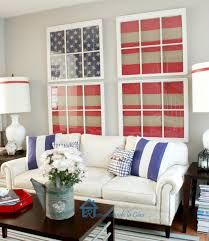 American Flag Home Decor Interior Americana Living Room Ideas Design Living Room Design