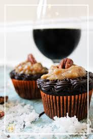 toasted coconut porter cupcakes beer infused dark chocolate cake