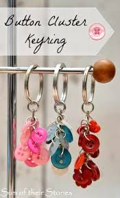 make key rings images 86 best button crafts images button crafts buttons jpg