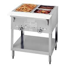 duke gas steam table duke 302 2 well gas food warmer steam table food tables