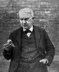 how did thomas edison invent the light bulb did thomas edison actually invent the light bulb in wyoming
