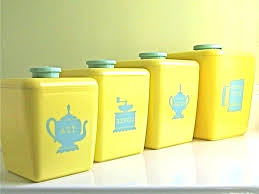 canisters for kitchen blue and yellow kitchen canisters yellow kitchen canisters kitchen