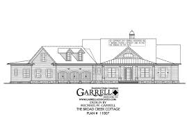 broad creek cottage house plan country farmhouse southern