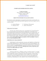 Resume Summary Of Qualifications Strategic Planning Resume Examples Resume For Your Job Application
