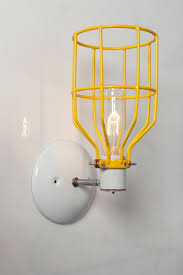 Yellow Wall Sconce Best 25 Industrial Wall Sconces Ideas On Pinterest Wall Lights