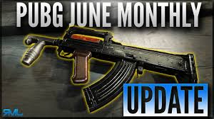 pubg new update pubg june monthly update new weapon groza and g18