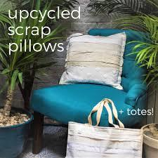 Upcycled Pillows - design upcycled scrap pillows totes u2013 cinder salt