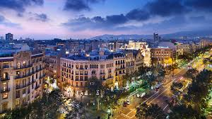 barcelona city view mandarin oriental barcelona barcelona hotels barcelona spain