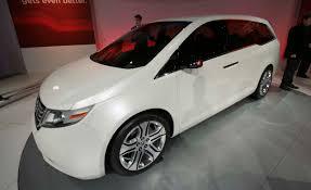 honda family car honda odyssey concept auto shows news car and driver