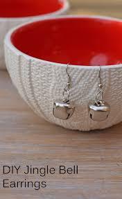 beginner earrings diy jingle bell earrings png