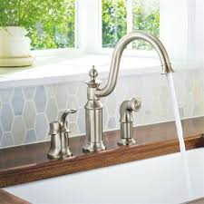 moen s711 waterhill chrome one handle with sidespray kitchen