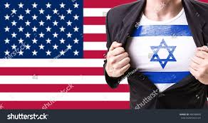 Flag Suit Businessman Stretching Suit Israel Flag On Stock Photo 289588409