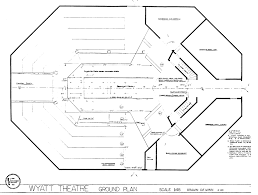 theater floor plan theatre u0026 dance production facilities uc davis arts
