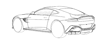 drift cars drawings 2019 aston martin vantage drifting teaser is slow motion goodness