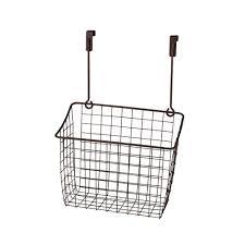 Over The Cabinet Door Basket by Amazon Com Spectrum Diversified Grid Storage Basket Over The