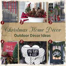 christmas outdoor decor christmas decorations